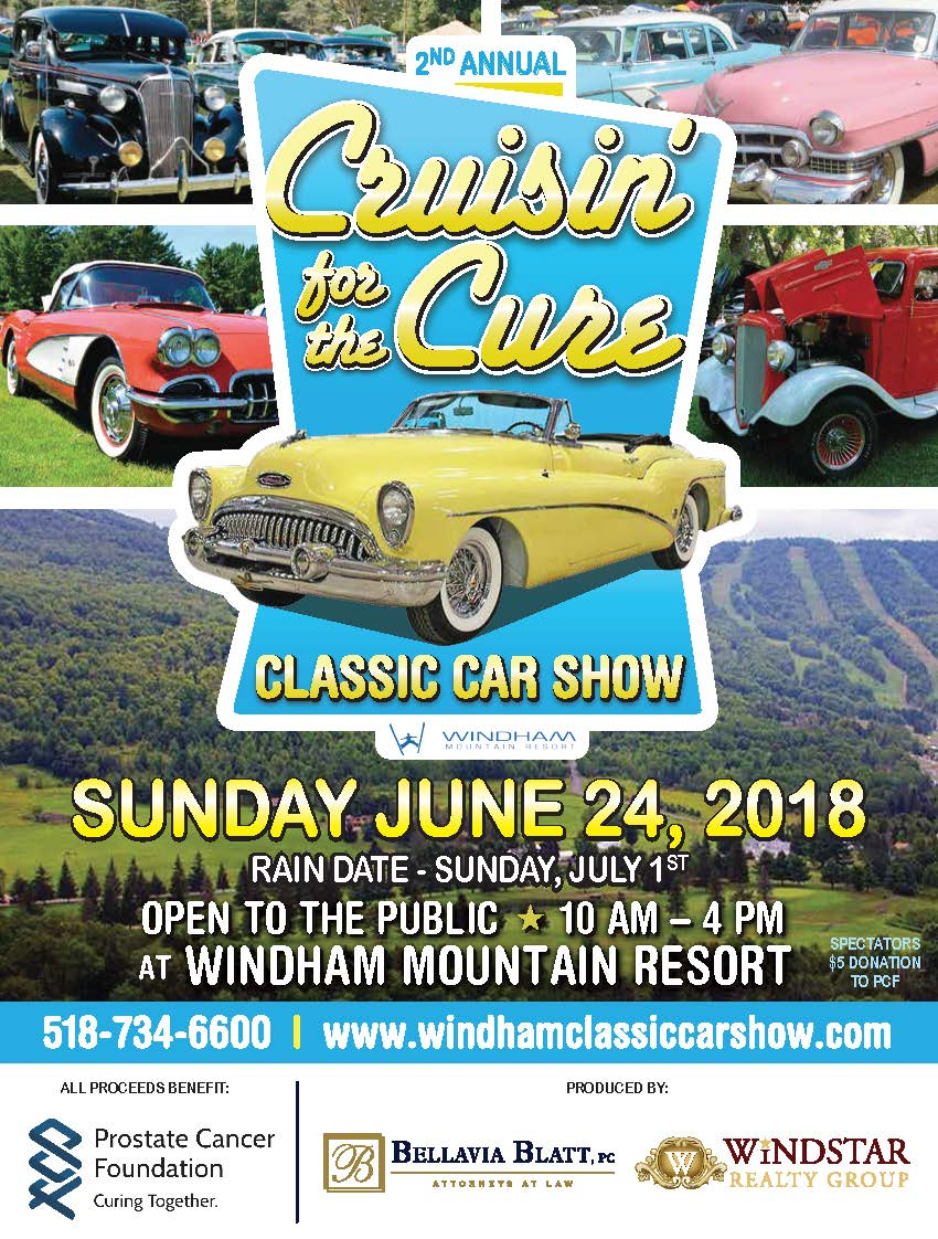 NO RAIN DATE! THE SHOW IS ON FOR SUNDAY JUNE 24th, 2018. GRAB YOUR RAINCOAT AND COME HELP US MAKE A DIFFERENCE!